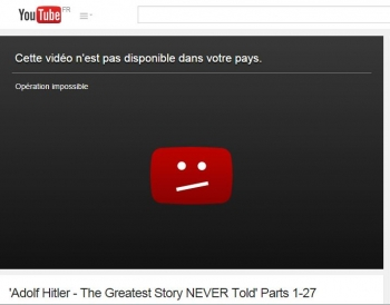 youtube censure france 3