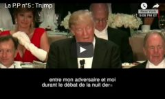 Mister Trump: Great moment !